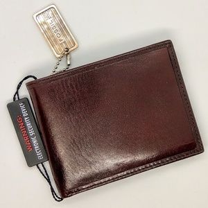 Brown Fossil Wallet